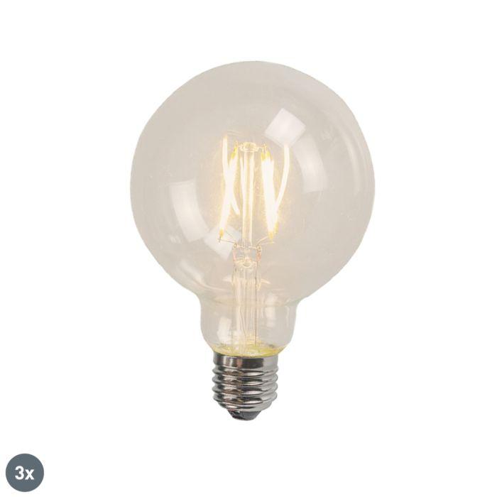 Set-di-3-E27-LED-Glühlampe-4W-470-Lumen-2700K