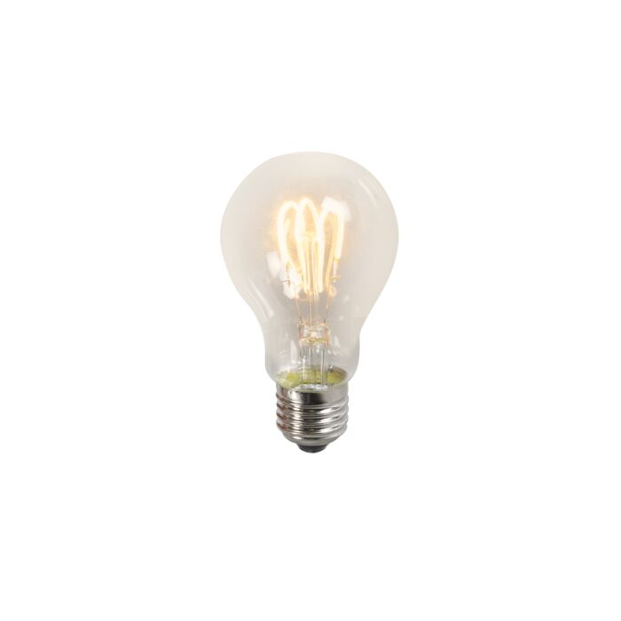 Lampada-a-LED-a-filamento-contorto-A60-3W-2200K-trasparente