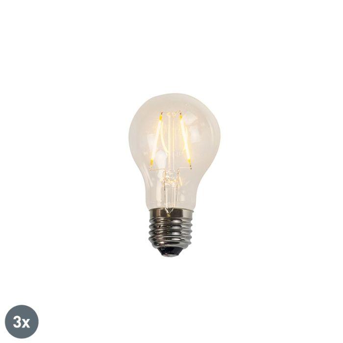 Set-di-3-lampade-a-LED-a-filamento-A60-2W-2200K-trasparenti