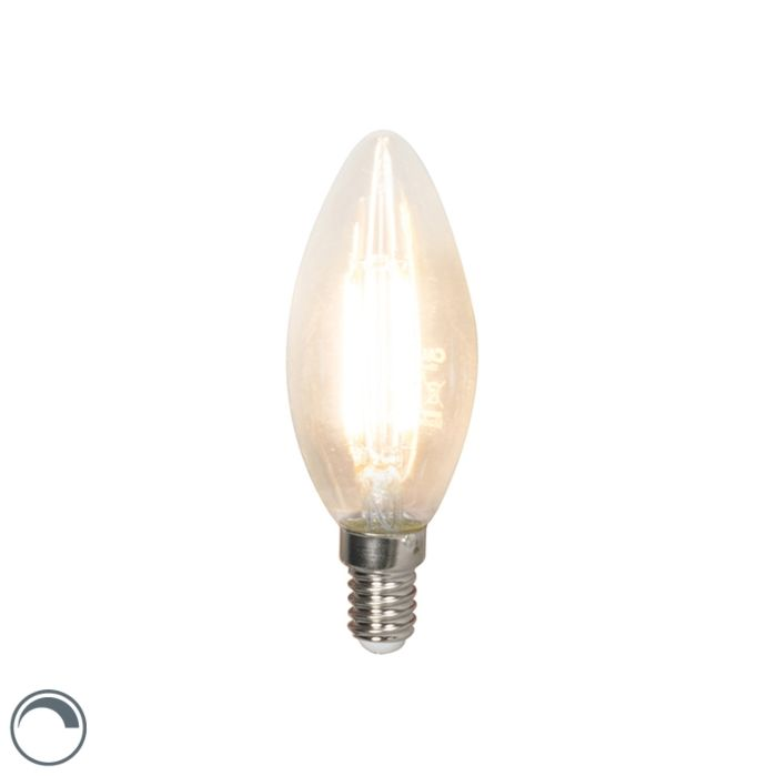 Candela-dimmerabile-a-filamento-LED-E14-B35-3,5W-350-lm-2700K