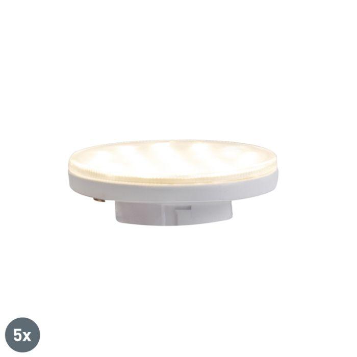 Set-di-5-lampade-LED-GX53-dimmerabili-a-3-livelli-3W-350-lm-3000K