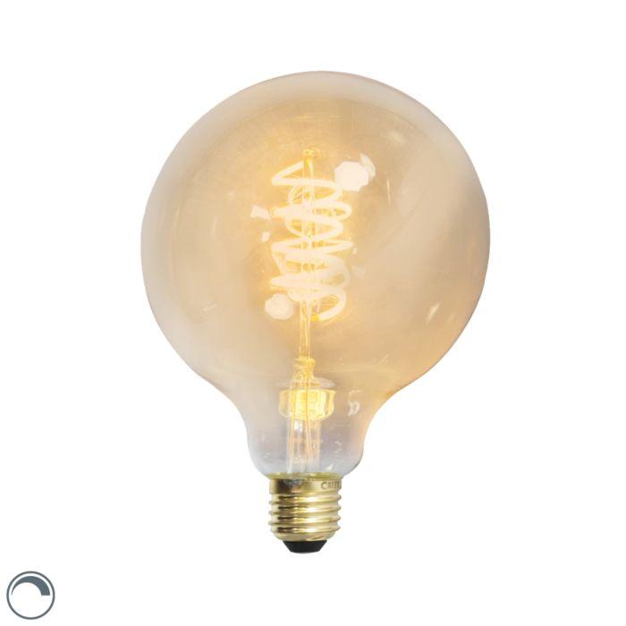 Lampada-a-filamento-a-LED-a-spirale-intrecciata-E27-240V-4W-200lm-dimmerabile