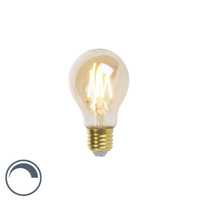 Lampada-a-filamento-LED-Goldline-E27-5W-360lm-A60-dimmerabile