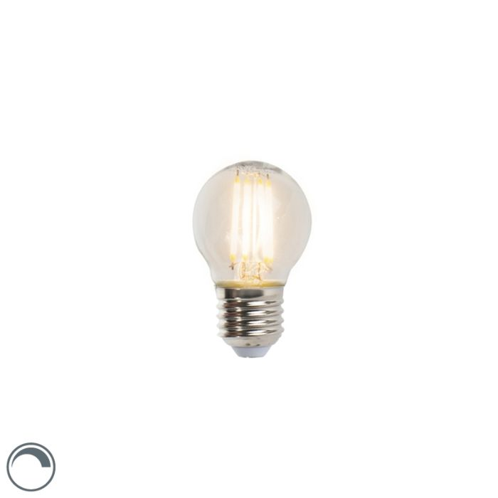 Lampadina-sfera-a-filamento-LED-E27-5W-470lm-dimmerabile