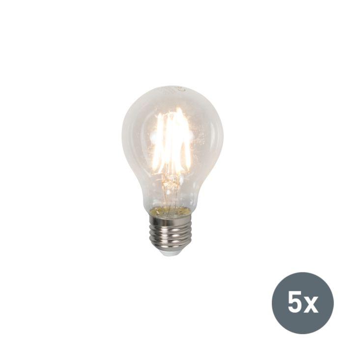 Set-di-5-lampadine-E27-a-LED-4W-400LM-bianco-caldo