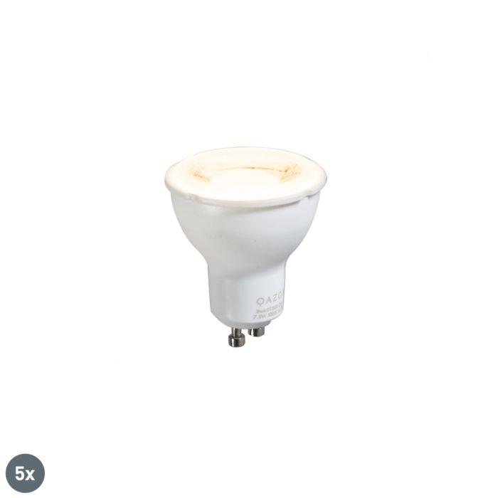 Set-di-5-lampade-GU10-da-7,5-W-3000-K.
