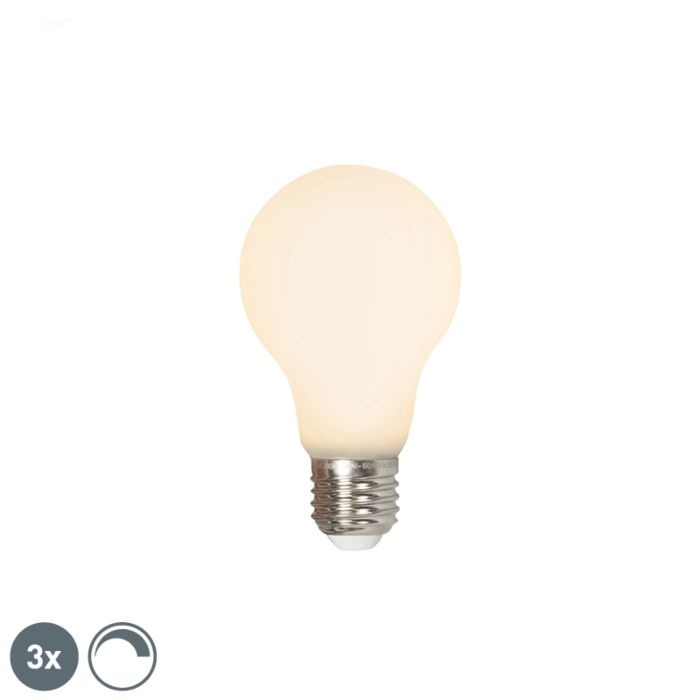 Set-di-3-LED-E27-240V-4W-380lm-dimmerabili