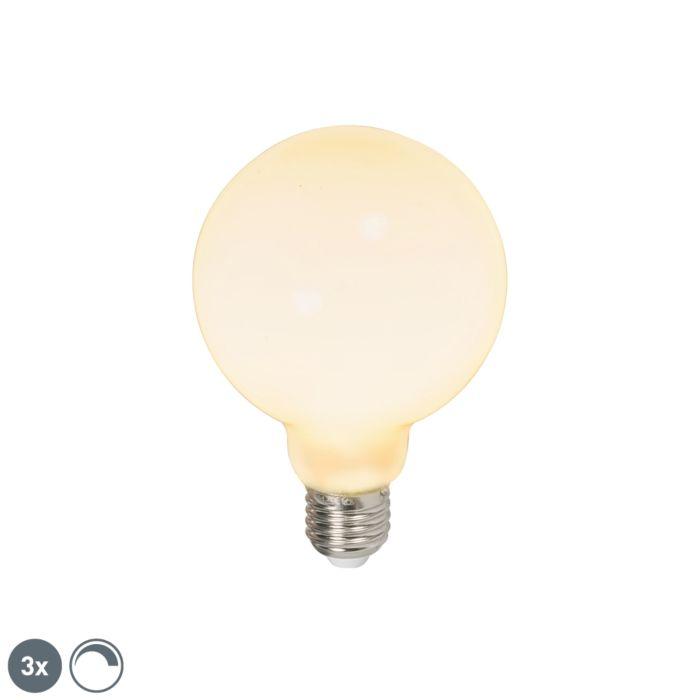 Set-di-3-lampadine-a-LED-E27-240V-6W-650lm-dimmerabili