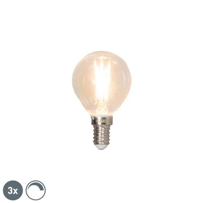 Set-di-3-lampade-a-sfera-dimmerabili-a-filamento-LED-E14-3W-350lm-2700K