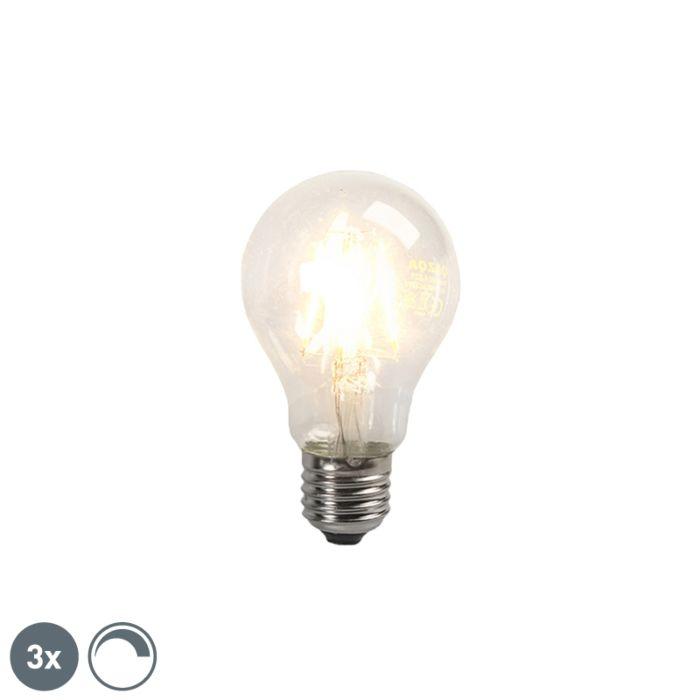 Set-di-3-lampadine-a-filamento-LED-E27-4W-390lm-dimmerabile