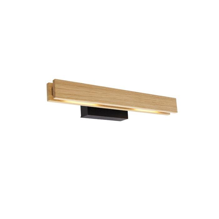 Lampada-da-parete-country-in-legno-con-LED---Holz