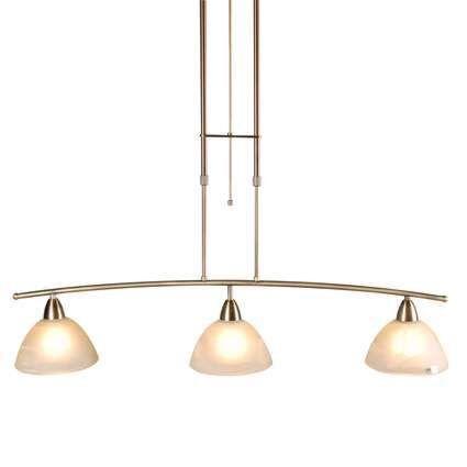 Lampada-a-sospensione-tavolo-soggiorno-'Firenze-3'-classico-bronzo---adatta-per-LED-/-interna