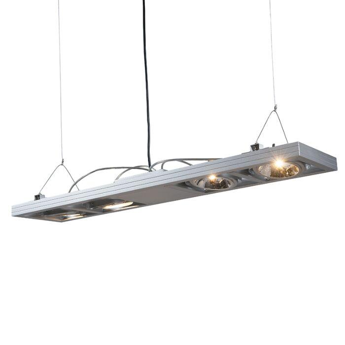 Lampada-a-sospensione-rettangolare-acciaio---KARDAN