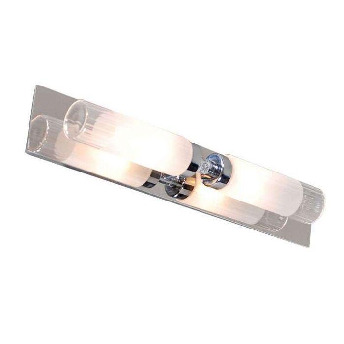 Applique-'bath'-moderno-cromo---adatto-per-LED-/-interno,-bagno
