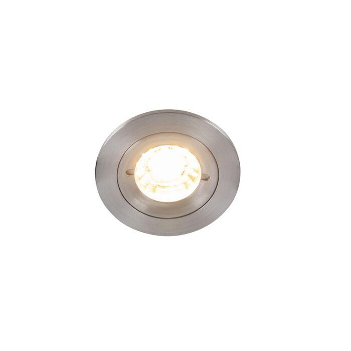 Spot-in-alluminio-da-incasso-IP54---Xena-Round