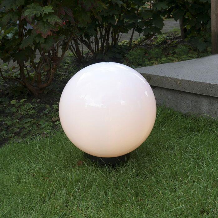 Lampada-da-esterno-moderna-con-perno-di-massa-30-cm-IP44---Lampadina