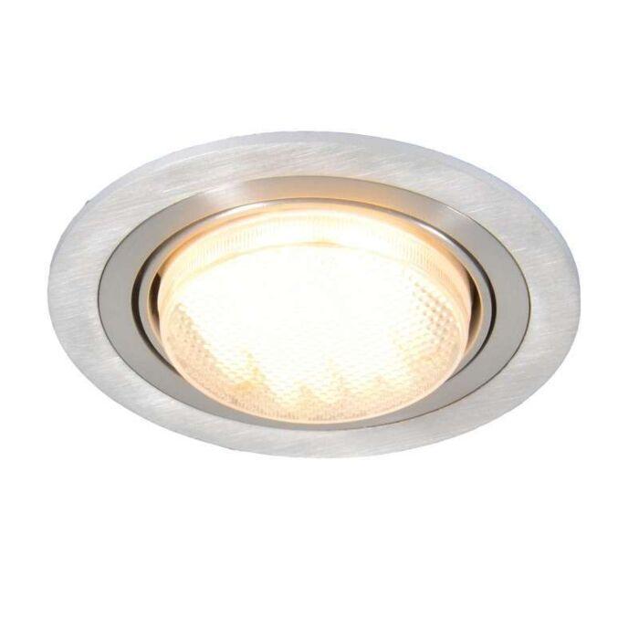 Faretto-da-incasso-'Antara'-moderno-alluminio---adatto-per-LED-/-interno