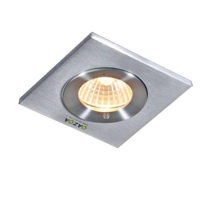 Faretto-da-incasso-quadrato-alluminio---XENA