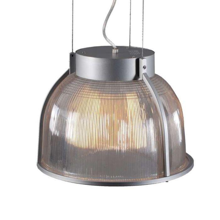 Lampada-a-sospensione-'Max-S'-industriale-alluminio/plastica---adatta-per-LED-/-interna