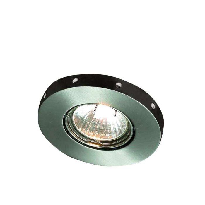 Faretto-da-incasso-'Mito'-moderno-acciaio---adatto-per-LED-/-interno