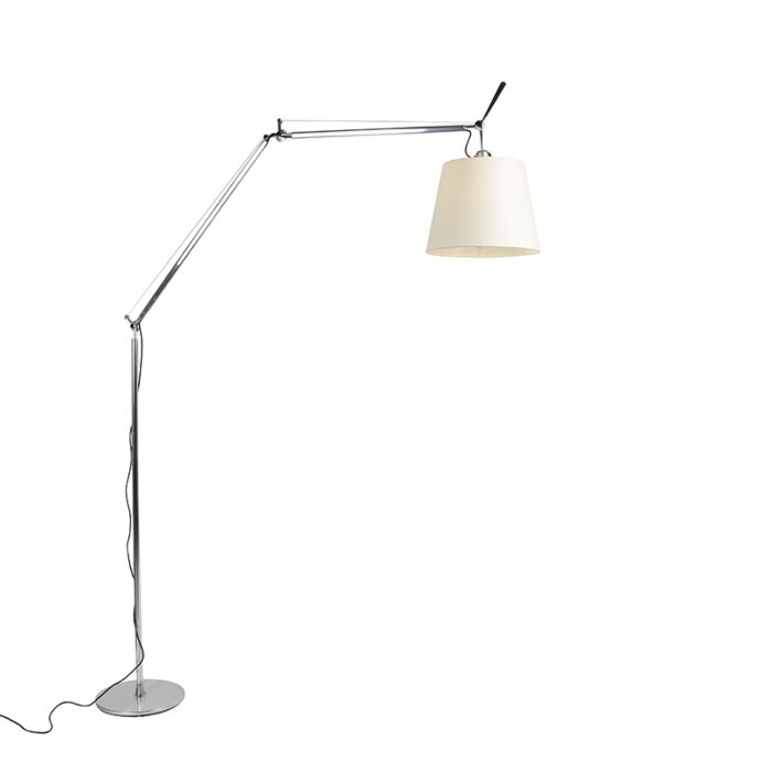 Lampada-da-terra-in-alluminio-285-cm---ARTEMIDE-Tolomeo-Mega-Terra