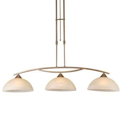 Lampada-a-sospensione-con-regolatore-'Milano-3'-classico-bronzo---adatta-per-LED-/-interna