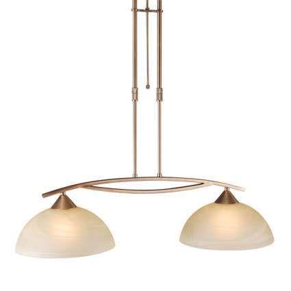 Lampada-a-sospensione-con-regolatore-'Milano-2'-classico-bronzo---adatta-per-LED-/-interna