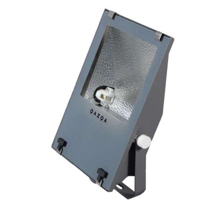 Faretto-proiettore-da-terra-'Astra-II'-industriale-carbone/alluminio-esterno