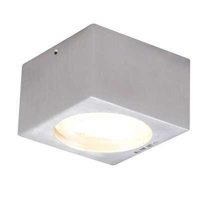 Lampada-da-soffitto/parete-'Antara'-moderna-alluminio---adatta-per-LED-/-esterna,-interna