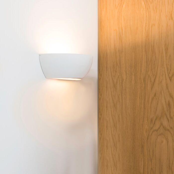 Lampada-da-parete-bianca---Gipsy-Chatou