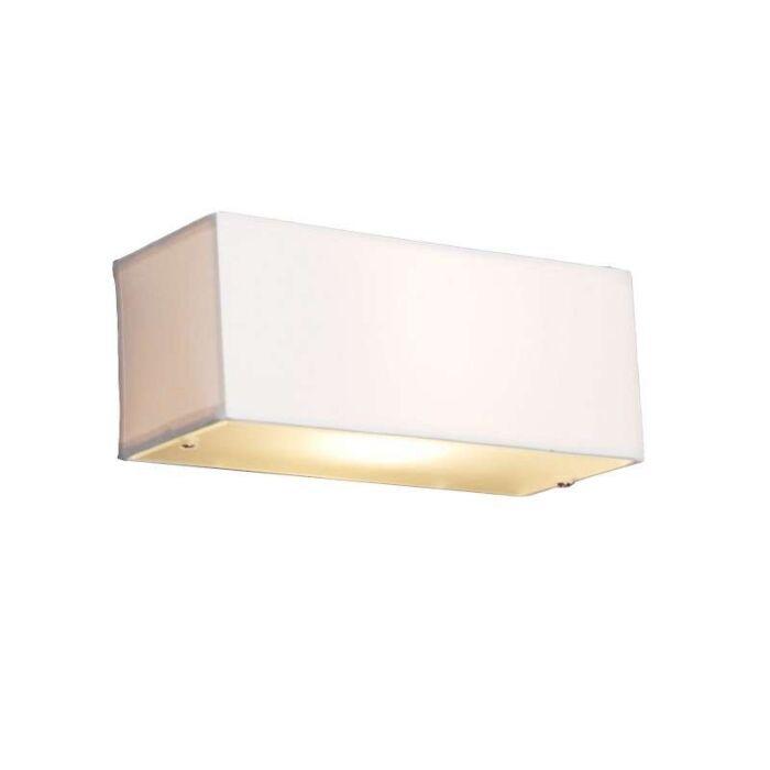 Lampada-da-parete-moderna-rettangolare-bianco---Drum