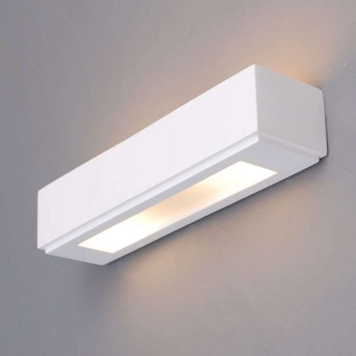 Applique-'Gipsy-Colmar'-moderno-blanco/intonaco---adatto-per-LED-/-interno