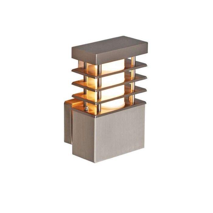 Applique-'Norton'-moderno-acciaio-inossidabile---adatto-per-LED-/-esterno