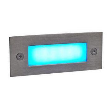 Faretto-da-incasso-'LEDlite-Recta-11-B'-moderno-acciaio-inossidabile---include-LED-/-esterno,-interno,-bagno