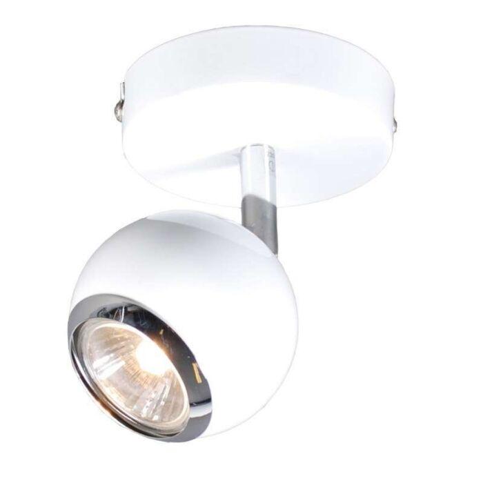 Faretto-da-soffitto/parete-'Buell-1'-retro-blanco/metallo---adatto-per-LED-/-interno