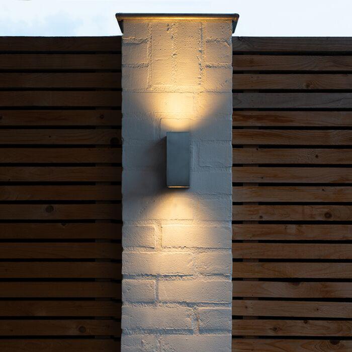 Lampada-da-parete-moderna-in-acciaio-IP44---Baleno-II
