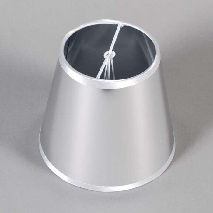 Paralume-a-gancio-'15cm-Magic'-rustico-cromo/plastica
