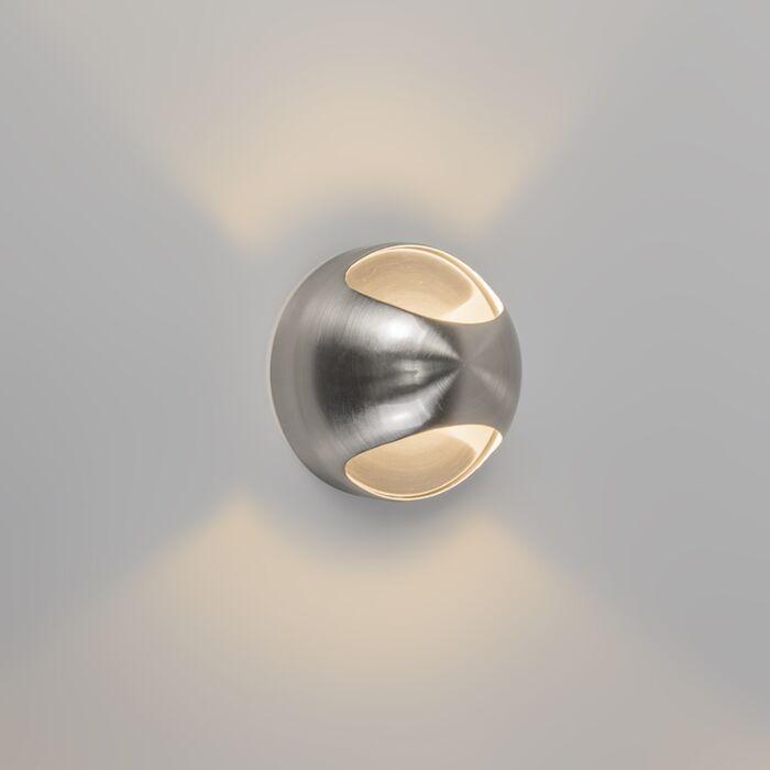 Applique-moderno-acciaio---OJO