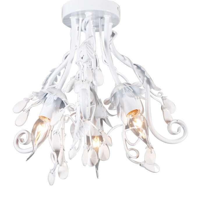 Plafoniera-'Romance-3'-classico-blanca/metallo---adatta-per-LED-/-interna