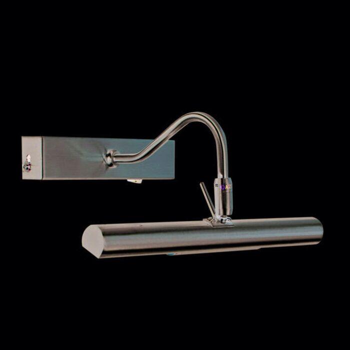 Illuminazione-per-quadri-'Picture-30'-design-acciaio---adatta-per-LED-/-interna