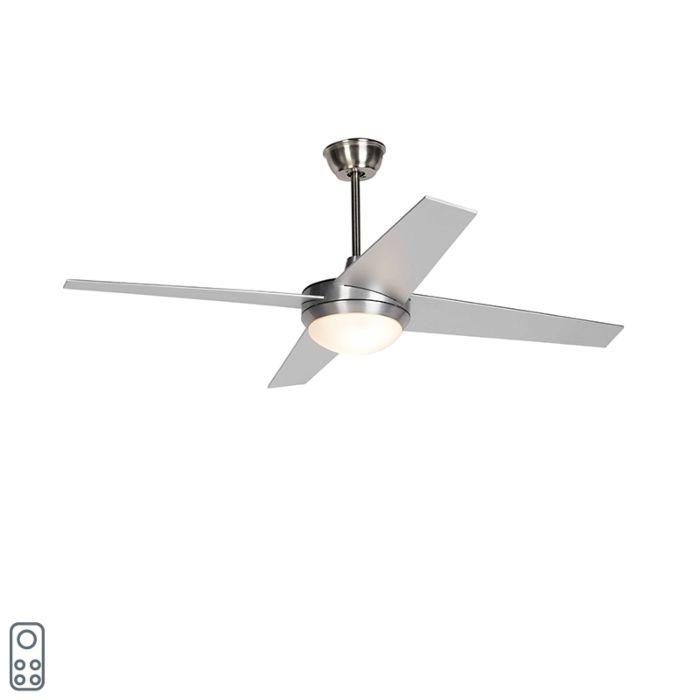 Ventilatore-da-soffitto-argento-con-telecomando---Roar-52