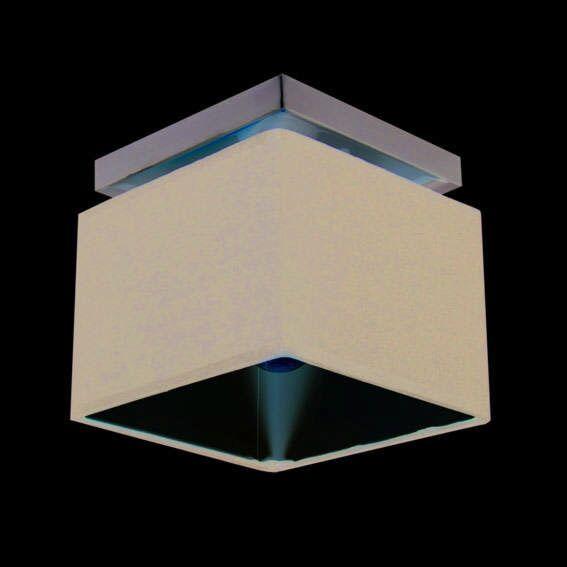 Plafoniera-'VT-1'-moderna-nera/tessuto---adatta-per-LED-/-interna