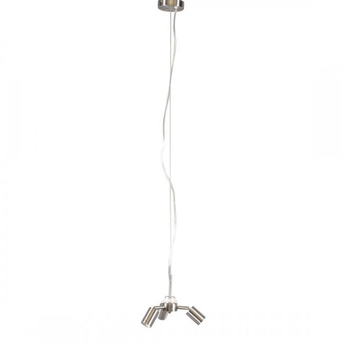 Lampada-a-sospensione-'Combi-1-3'-moderna-acciaio---adatta-per-LED-/-interna