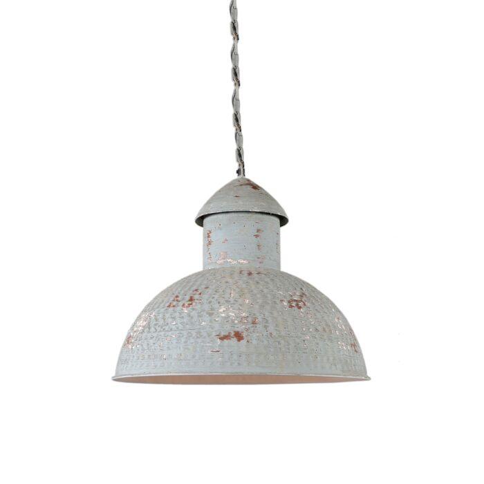Lampada-a-sospensione-grande-'Barun'-rustica-grigia/metallo---adatta-per-LED-/-interna