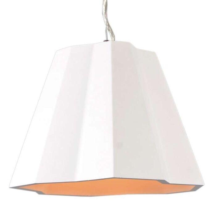 Lampada-a-sospensione-'Gipsy-Massy'-moderna-blanca/intonaco---adatta-per-LED-/-interna