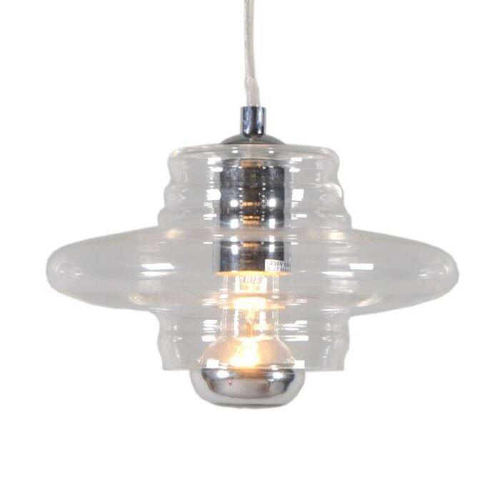 Lampada-a-sospensione-'Treviso-I'-moderna-trasparente/vetro---adatta-per-LED-/-interna