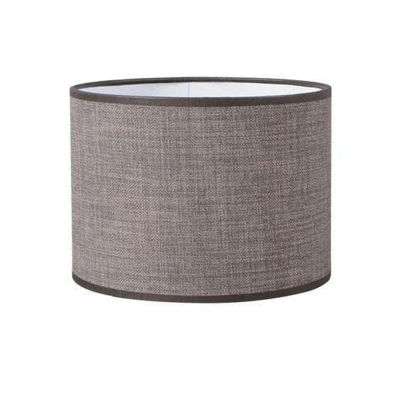 Paralume-'Kap-R-20/20/15-E27-DS'-moderno-grigio/tessuto