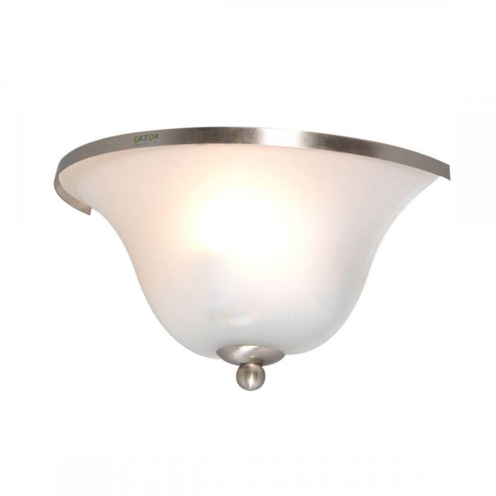 Applique-'Elegance'-classico-acciaio---adatto-per-LED-/-interno