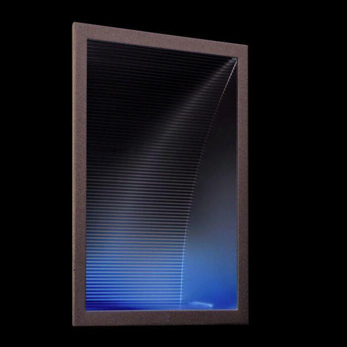 Faretto-da-incasso-da-parete-'Down-Under-L'-moderno-alluminio---adatto-per-LED-/-interno