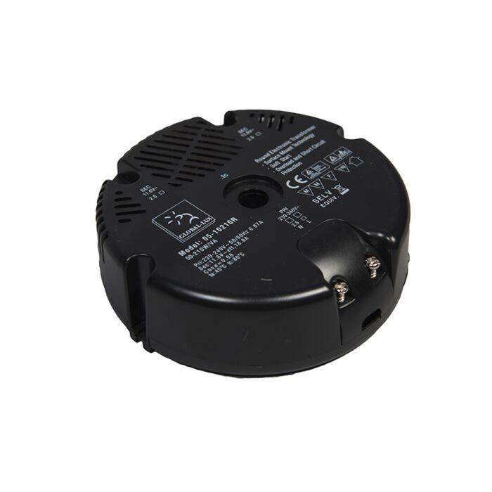 Trasformatore-'50-210VA-R'-nero/plastica